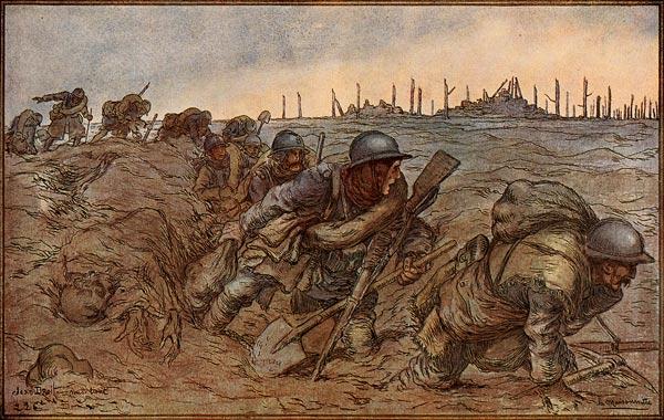 Illustration sneg Vincent