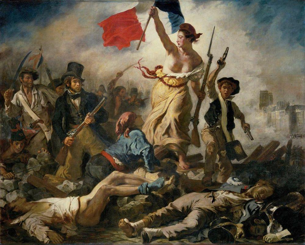 Illustration Sneg Eugène_Delacroix_-_Le_28_Juillet._La_Liberté_guidant_le_peuple