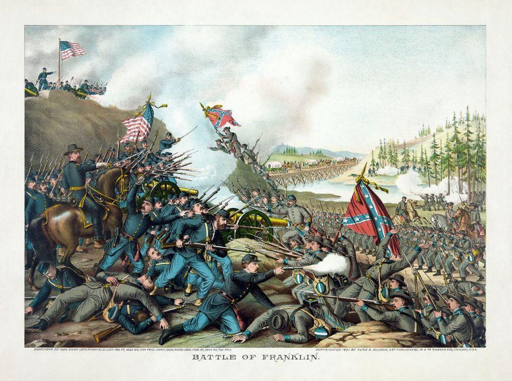 Illustration publication guerre de Sécession